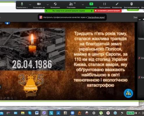 Чорнобиль не має минулого часу